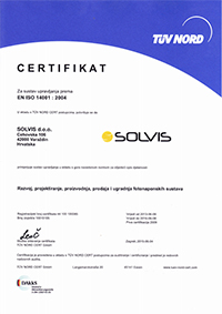 Environment Management <br />  EN ISO 14001:2015