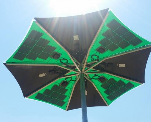 Solvis-solarni kišobran