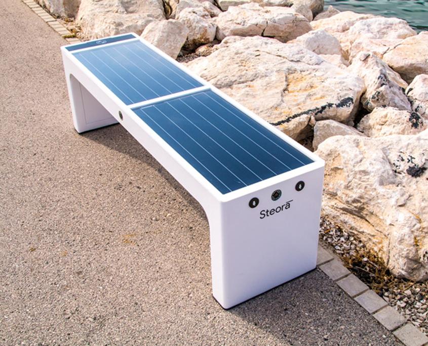 solvis-solarna klupa