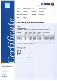 Factory inspection certificate  <br /> Made in EU