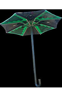 Solvis-Solarno kišobran