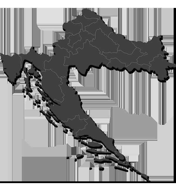 SOLVIS-karta Hrvatske